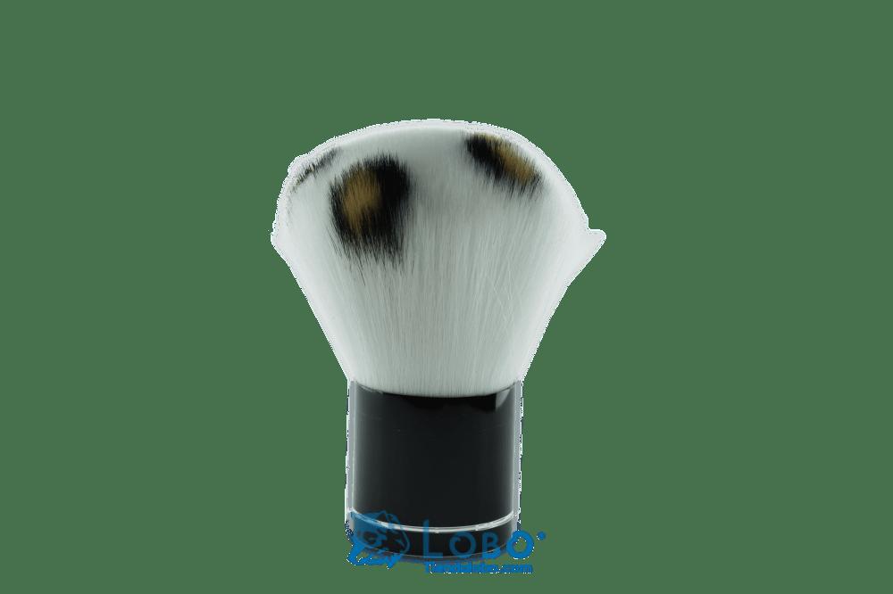 Bledo de cerdas finas blanco negro
